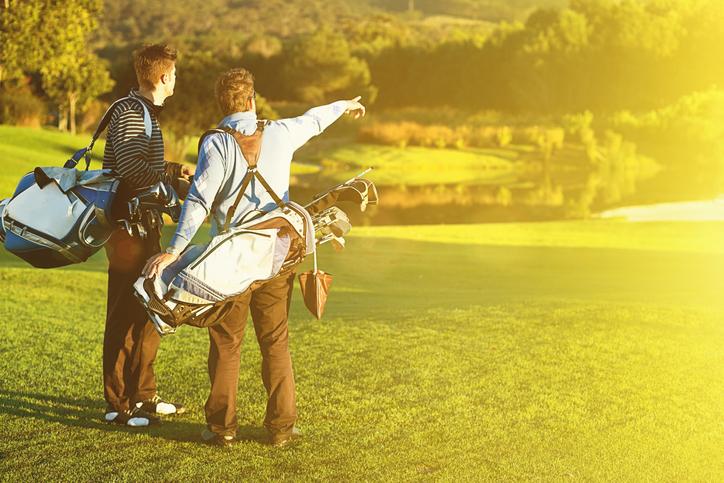 Golfaaja näkee maailmaa