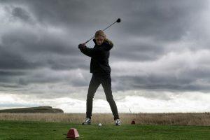 Lämpimästi pukeutumalla golf sujuu aina.